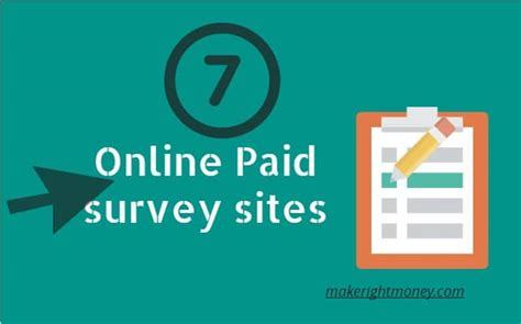 Make Money Online Surveys 2017 - 7 best survey sites make money taking online surveys 2018 update