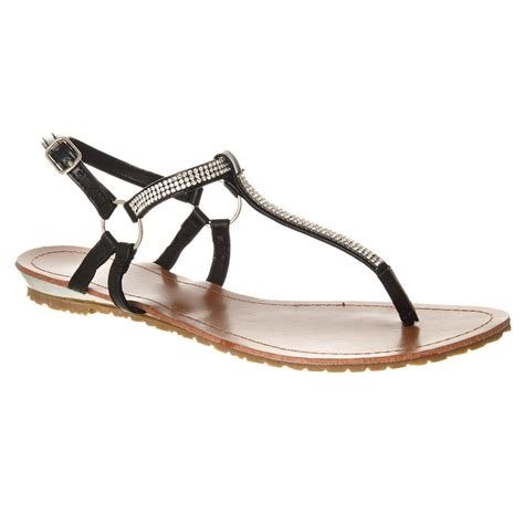 sandals with straps around the ankle flat ankle sandal with t bar miss from miss
