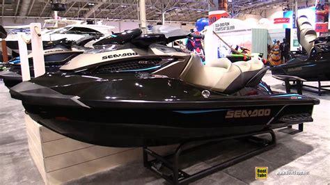 sea doo jet boats 2017 2017 sea doo gtx limited 300 jet ski walkaround 2017