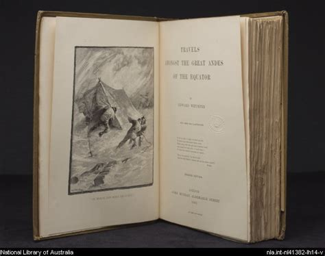 travels amongst the great andes of the equator classic reprint books travels of a travel book national library of australia