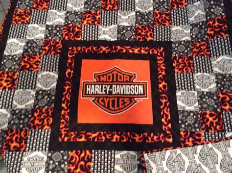 Harley Davidson Fabric by 17 Best Images About Harley And Skull Quilts On