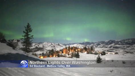 northern lights washington state solar storm northern lights pics about space
