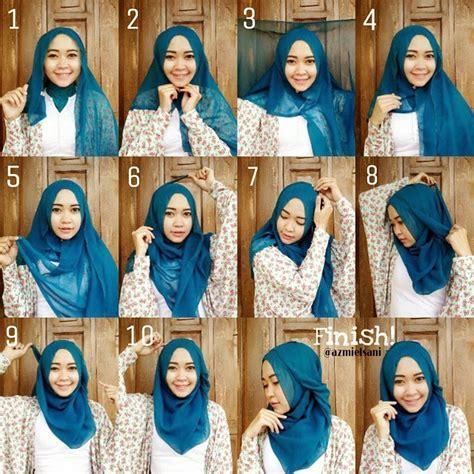 elegan  terbaru hijab tutorials ala zaskia sungkar