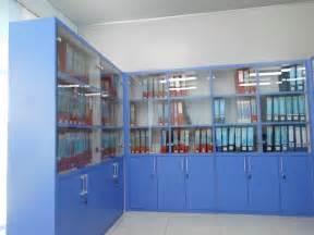 Lemari Dokumen filing cabinet system moveable lemari dokumen kantor dengan roda bisa digeser pintu kaca rak