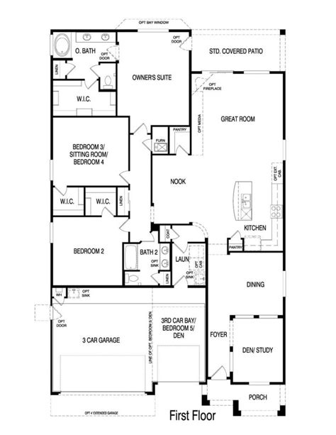 pulte homes floor plans luxury pulte homes new home