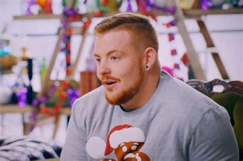 tattoo fixers gingerbread man tattoo fixers meet man with outrageous christmas tatt