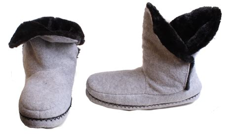 cabernet slippers cabernet slipper womens light gray or black house shoes