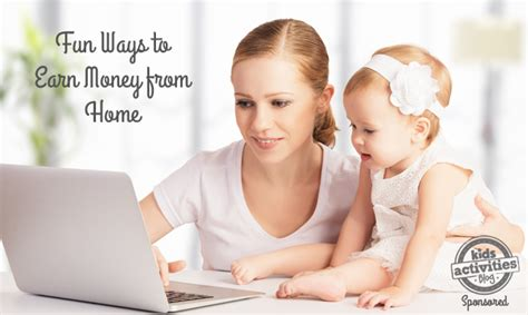 Home Based For Mothers Earn Money At Home With That 5 Ways For Stay At Home To Earn Money