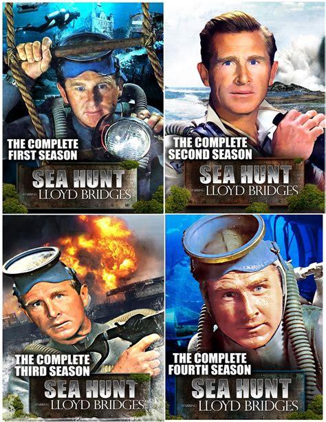 Mw T Shirt Frogman sea hunt complete series collector s edition seasons 1 4