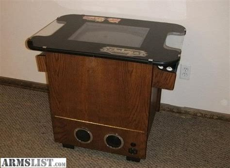 frogger cocktail table for sale armslist for sale 60 in 1 ms pacman galaga