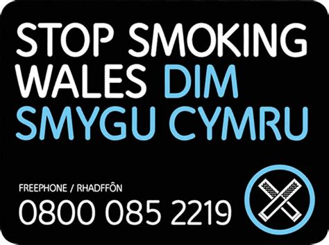 no smoking signs wales aneurin bevan university health board stoptober 2015