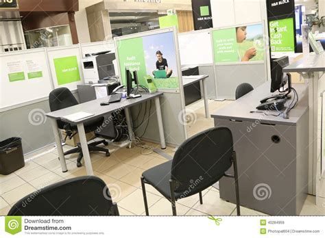 Simply Office by H R Block Simply Office Inside Mall Editorial Stock Image