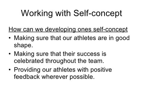 possible selves psychology leadership in sport psychology part 3