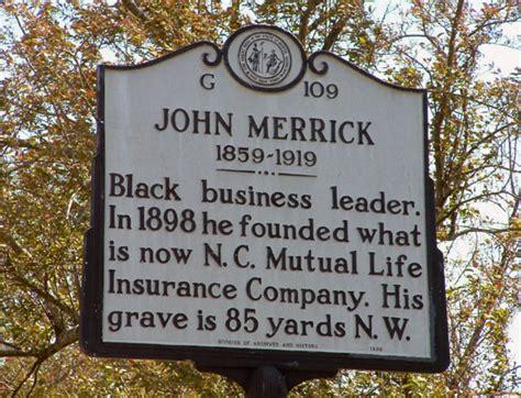 Durham, John Merrick marker