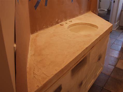 Concrete Skim Coat Countertop by Concrete Countertops Concrete Overlays Skim Coat