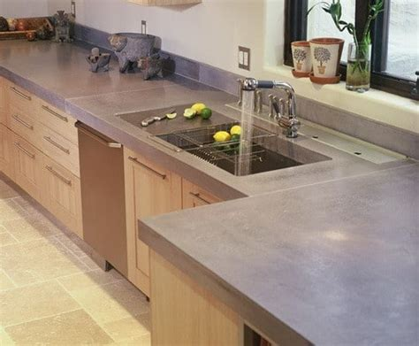 counter top ideas concrete countertop ideas and exles part 1 of 2 pictures removeandreplace