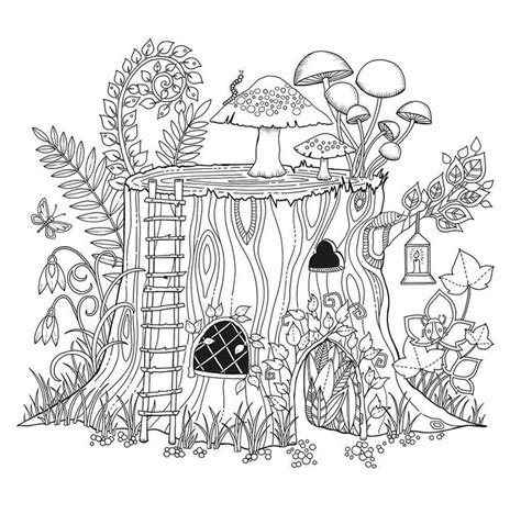 anti stress coloring book enchanted forest for 234 t enchant 233 e enchanted forest by johanna basford