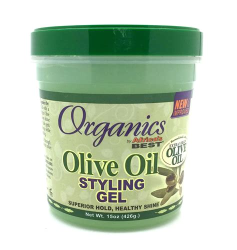 styling gel organic africa s best organic olive oil styling gel 15 oz ebay
