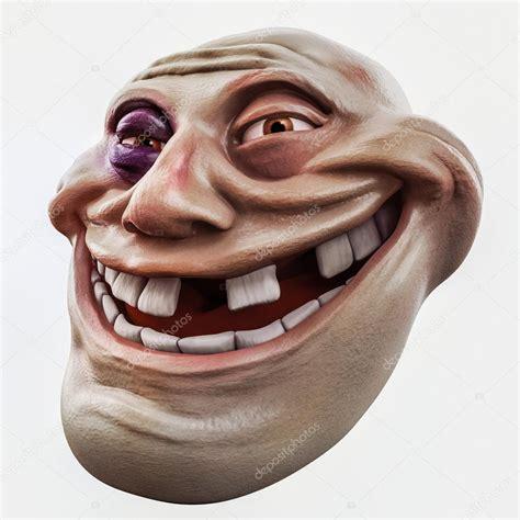 3d Troll trollface golpeado ilustraci 243 n 3d de troll de