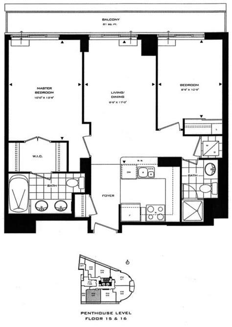 2 Bedroom Rental Yorkville Lotus Condominiums 8 Scollard Yorkville Annex