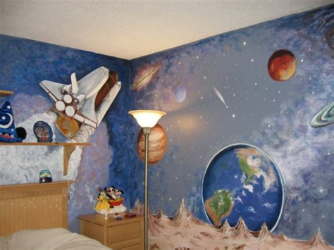 Kinderzimmer Ideen Weltall by Wandmalerei Im Kinderzimmer Magische Welten Entdecken