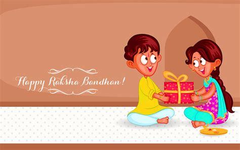 Cartoon Wallpaper For Raksha Bandhan | happy raksha bandhan cartoon hd wallpaper
