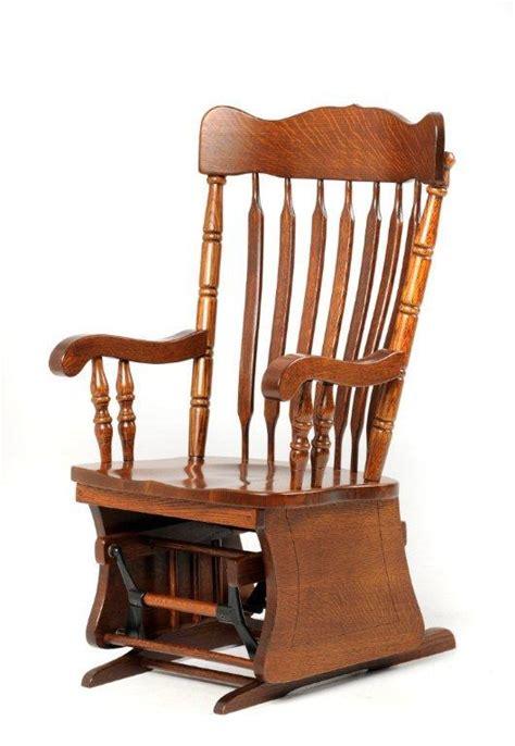 Rocker Glider Chair by Amish Glider Rocker