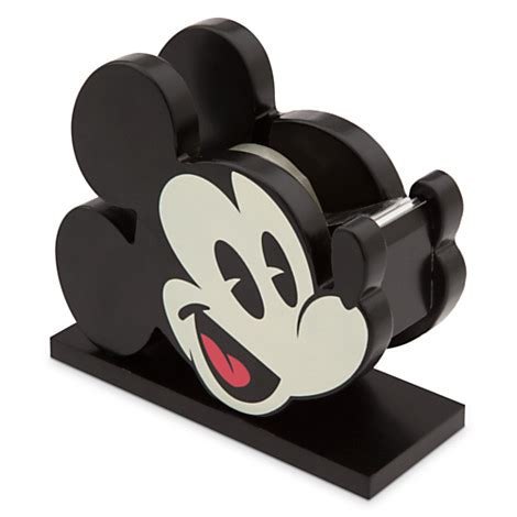 disney office desk accessories mickey mouse tape dispenser mickey fix