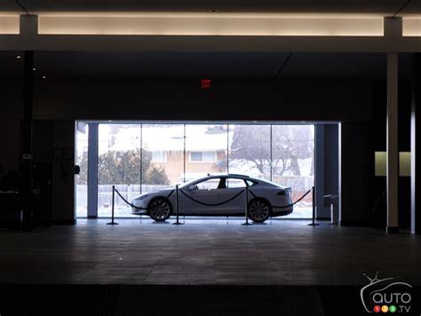 tesla motors montreal tesla motors opens its doors in montreal car news auto123