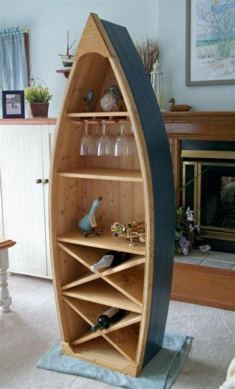 ft boat wine rack glass holder bookcase shelf canoe hand