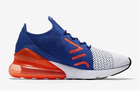 Sneakers Sepatu Nike Airforce Flyknit Racer Black White Premium nike air max 270 flyknit racer blue total crimson ao1023 101 sneaker bar detroit