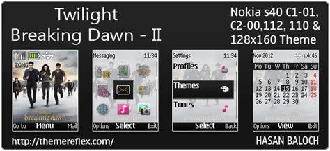 twilight themes for nokia x2 01 twilight themes themereflex