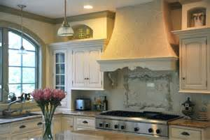 French Country Kitchen Backsplash Ideas by Decorative Kitchen Hoods Both Functional And Beautiful