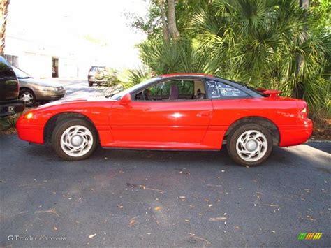 dodge stealth red scarlet red 1991 dodge stealth es exterior photo 48078786