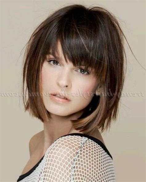 bob witj layered top 15 inspirations of long layered bob hairstyles with bangs