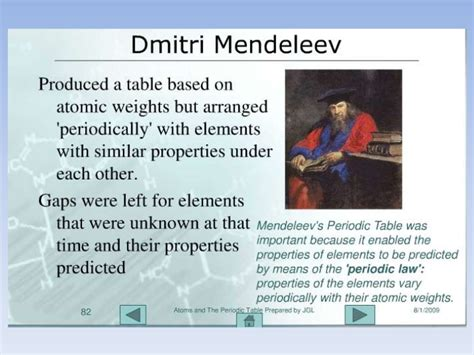 history of the periodic table history of the periodic table