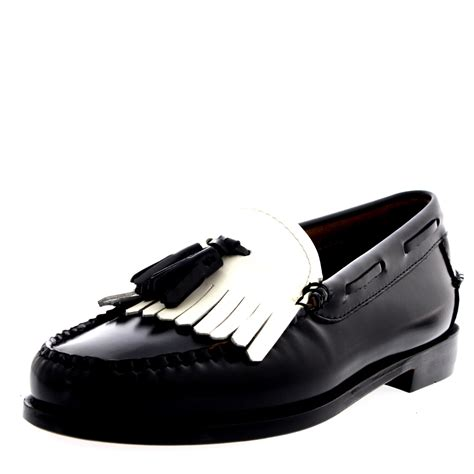 bass shoes loafers womens g h bass weejuns esther kiltie slip on smart work