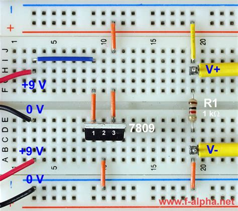 integrated circuit voltage f alpha net experiment 9 drop out voltage