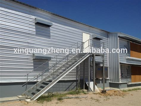 Broiler Poultry Farm Shed by Closed Type Environmental Controlled Broiler Poultry Farm