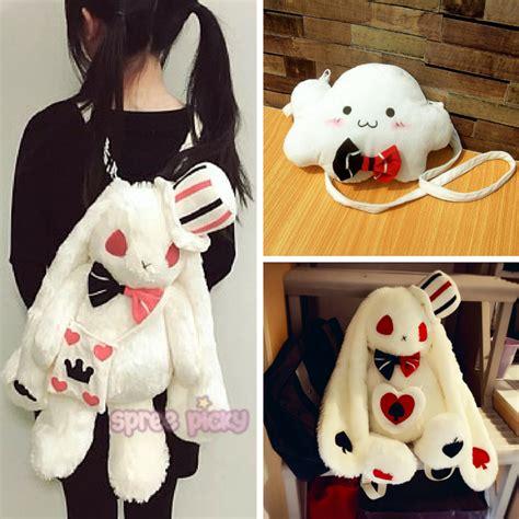 Bunny Backpacker Bag kawaii bunny plush shoulder bag backpack sp165875