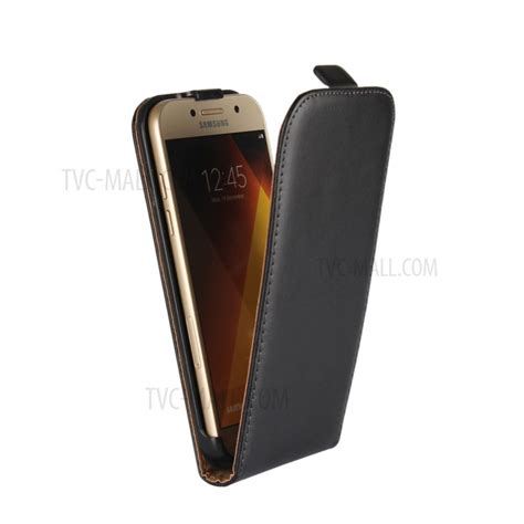 Samsung Galaxy A5 2017 Leather Casing Kulit Flip Cover Caseme split leather vertical flip cover for samsung galaxy a5 2017 sm a520f black tvc mall