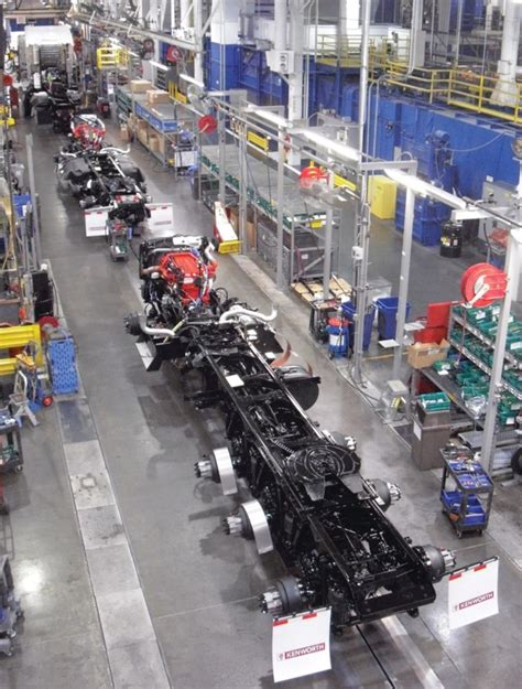 kenworth factory tour u s doe commends kenworth s renton plant