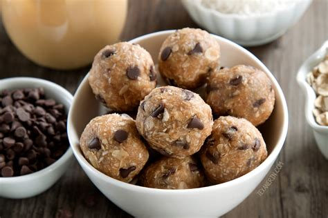 protein oatmeal balls peanut butter protein balls gluten free vegan whole