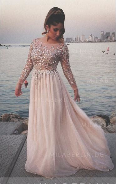 Brautkleider Lange ärmel by Abendkleider Lang Mit 228 Rmel Abendkleider Lang Rosa