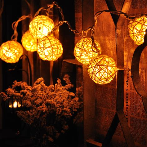 2013 New Items Zakka Sepak Takraw Lighting String L Kitchen String Lights