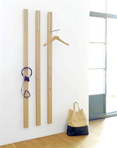 modern coat racks wall mounted wall mounted coat rack contemporary line by apartement 8