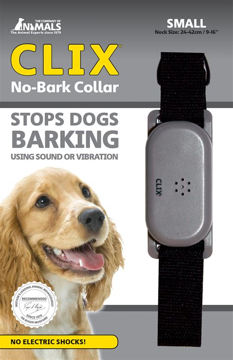 bark sound clix no bark sound vibration collar