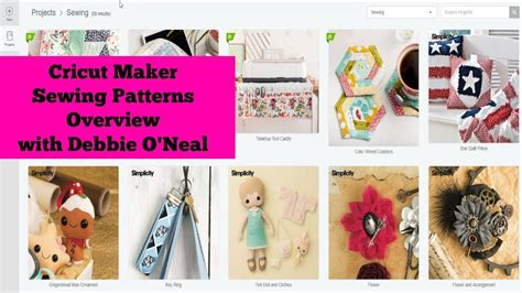 sewing pattern generator online cricut maker sewing patterns overview youtube