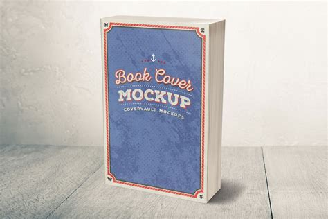 3d book cover template free 5 x 8 mass market paperback 3d book mockup covervault
