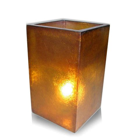 jeffan labota 24 in orange square lighted planter l lm